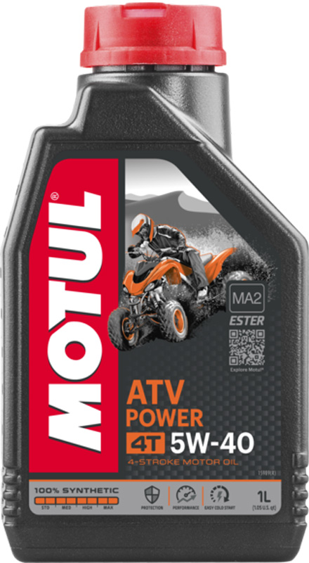 Моторное масло MOTUL ATV Power 4T 5W40 (4 л.)